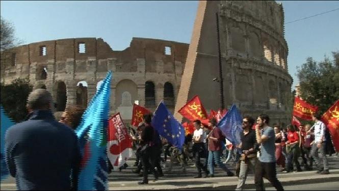 Celebraci%C3%B3+d%27una+Europa+unida+entre+protestes+ciutadanes