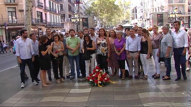 Balears+escenifica+el+seu+condol+a+La+Rambla