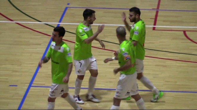 El+Palma+Futsal+es+deixa+remuntar+a+la+pista+del+Llevant+%283-2%29