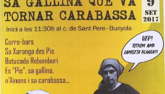 Bunyola+celebra+la+segona+edici%C3%B3+de+la+Festa+de+la+Gallina+que+torn%C3%A0+carabassa
