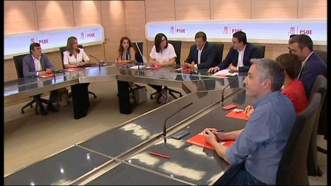 La+comissi%C3%B3+gestora+del+PSOE+es+reuneix+per+primera+vegada