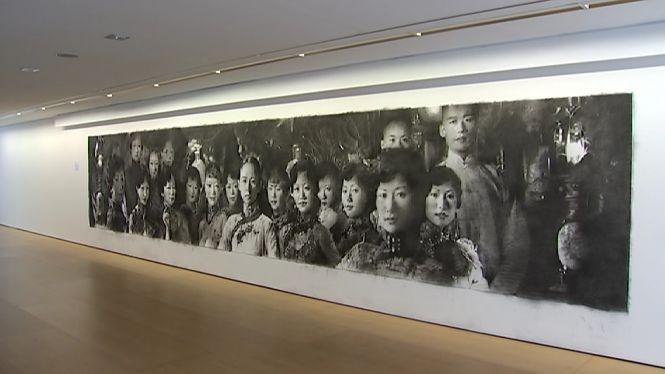 Girbent+culmina+el+mural+m%C3%A9s+gran+exposat+mai+a+una+galeria+de+les+Balears