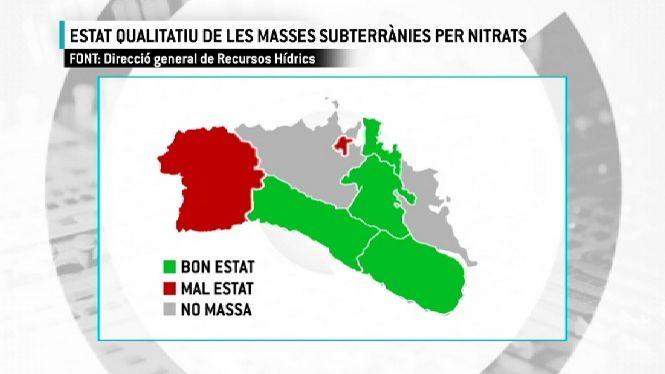 Les+masses+subterr%C3%A0nies+d%27aigua+de+Ciutadella+contenen+un+exc%C3%A9s+de+nitrats
