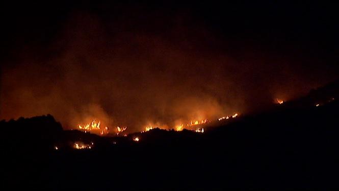 Extingit+l%27incendi+forestal+de+Sa+Pobla