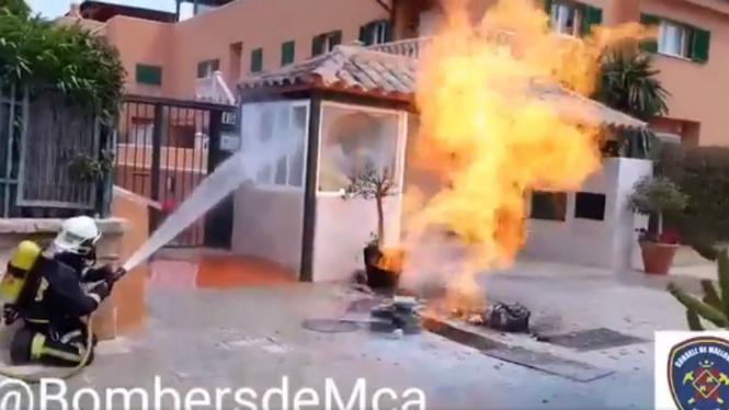 Un+incendi+ha+calcinat+un+pis+de+Palma+avui+de+matinada