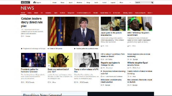 El+conflicte+entre+els+governs+d%27Espanya+i+Catalunya+centra+les+portades+de+mitjans+internacionals