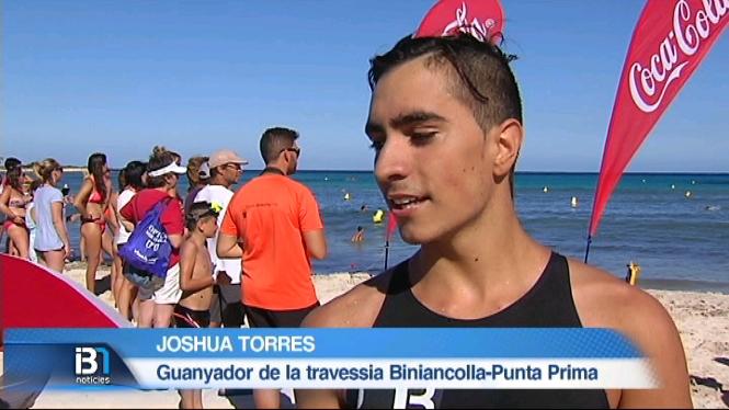 Marqu%C3%A8s+i+Torres+guanyen+la+travessa+de+Biniancolla+a+Punta+Prima+amb+122+nedadors