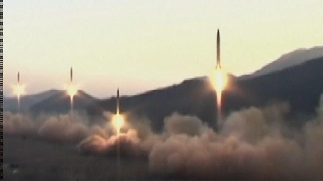 Corea+del+Nord+torna+a+llan%C3%A7ar+un+m%C3%ADssil+bal%C3%ADstic