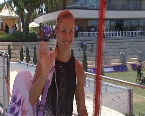 La+tennista+Angelique+Kerber%2C+n%C3%BAmero+1+del+m%C3%B3n%2C+entrena+a+Mallorca