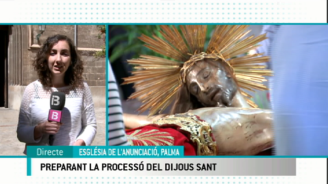 Palma+es+prepara+per+la+process%C3%B3+de+Dijous+Sant