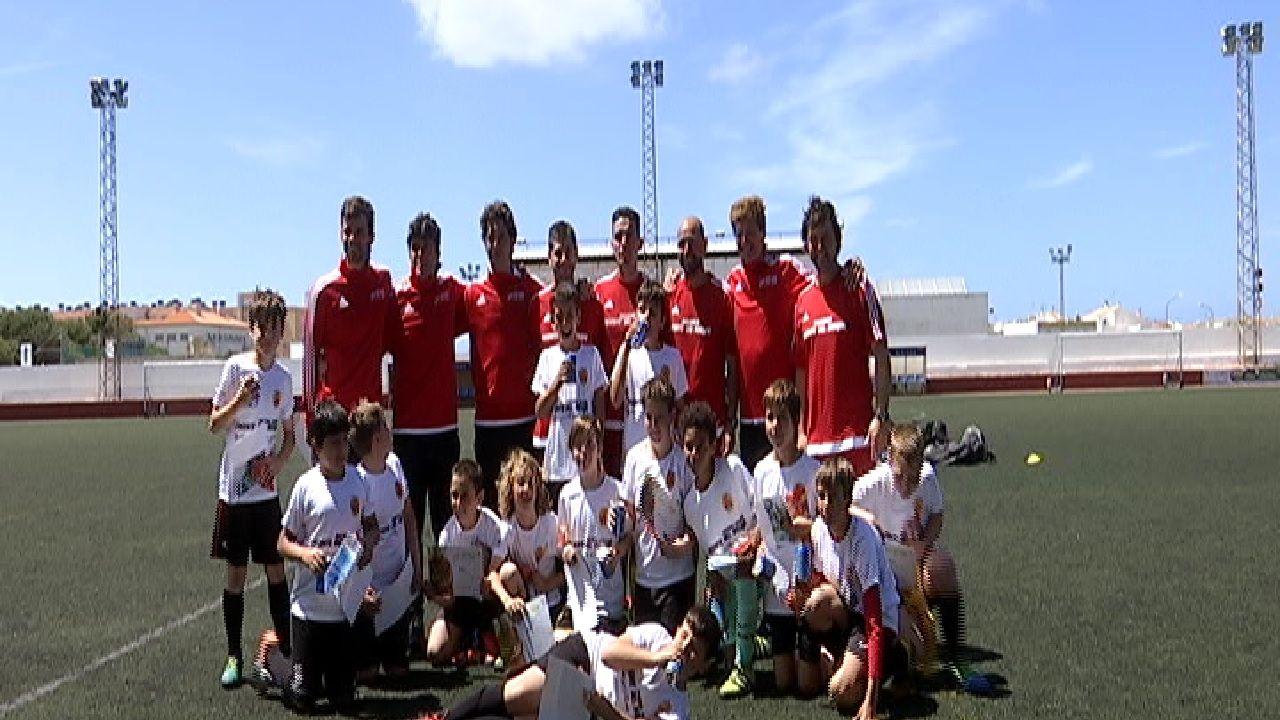 El+Campus+Vicente+del+Bosque+fa+escala+a+Menorca