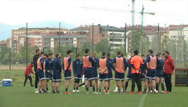 El+Mirand%C3%A9s+comen%C3%A7a+a+preparar+el+partit+contra+el+Mallorca
