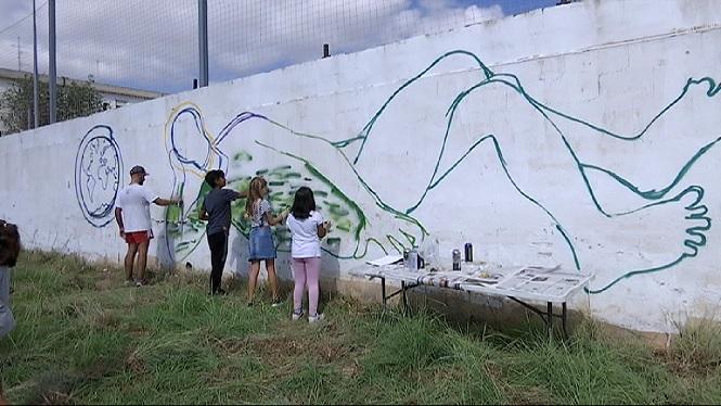 Un+mural+per+demanar+un+model+energ%C3%A8tic+m%C3%A9s+sostenible