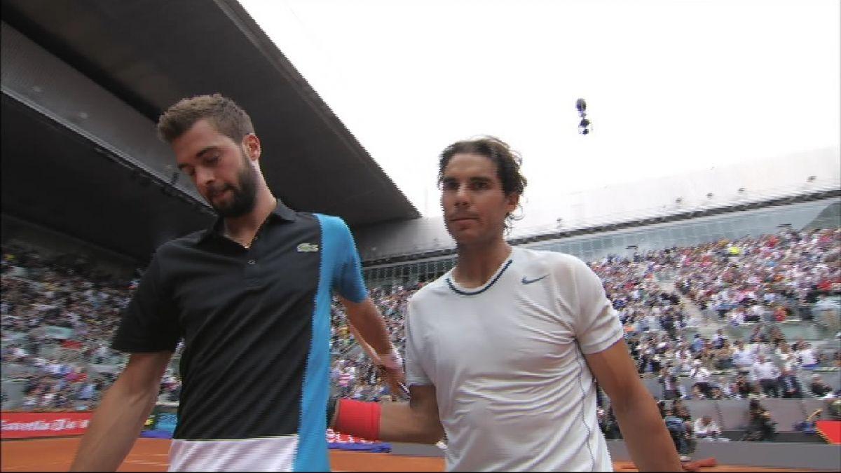 Rafel+Nadal+s%27estrena+a+Par%C3%ADs+contra+Benoit+Paire