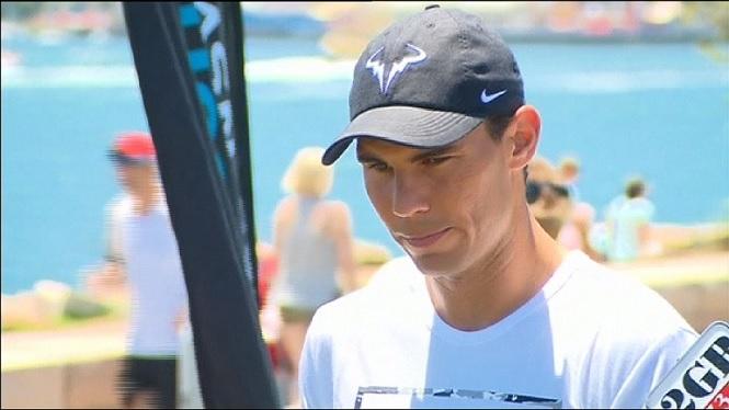 Rafel+Nadal+perd+contra+Nick+Kyrgios+en+un+partit+d%27exhibici%C3%B3+a+Sidney