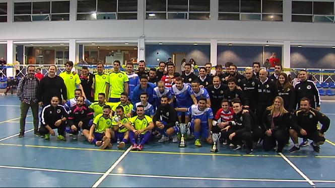 El+Palma+Futsal+guanya+el+triangular+de+Nadal