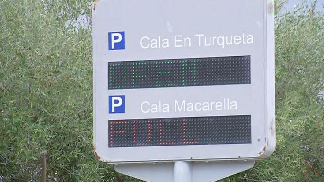 Desvien+900+cotxes+diaris+de+les+platges+verges+de+Ciutadella+en+ple+setembre