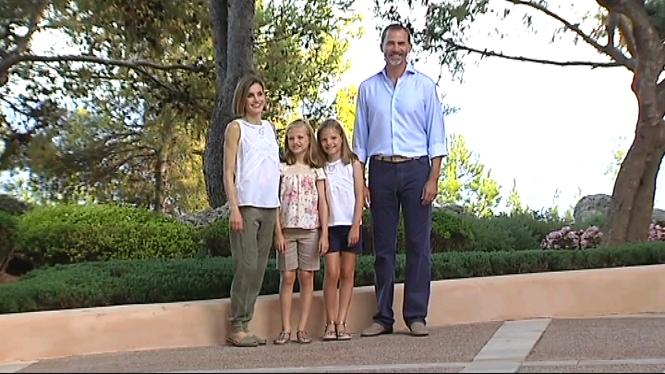 Els+reis+comencen+les+vacacions+a+Mallorca
