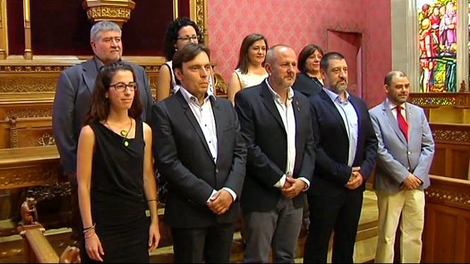 Els+nous+consellers+executius+del+Consell+de+Mallorca+prenen+possessi%C3%B3+dels+seus+c%C3%A0rrecs