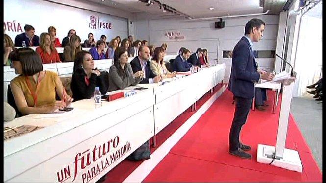 El+Comit%C3%A8+Federal+del+PSOE+es+reuneix+a+Ferraz+per+decidir+qu%C3%A8+cal+fer+despr%C3%A9s+del+20D