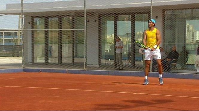Rafel+Nadal+celebra+la+vict%C3%B2ria+d%27ahir+a+Barcelona