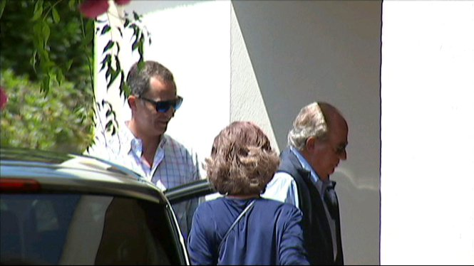 El+rei+Felip+VI+arriba+a+Mallorca