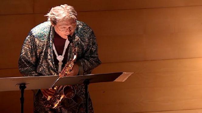 El+saxofonista+Ryo+Noda+converteix+en+m%C3%BAsica+l%27art+de+Mir%C3%B3