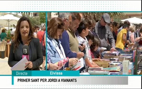 Un+Sant+Jordi+per+a+vianants+a+Eivissa
