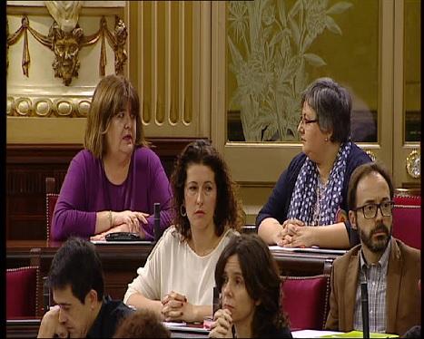Huertas+i+Seijas+s%27acaben+seient+entre+el+p%C3%BAblic+perqu%C3%A8+no+els+permeten+fer-ho+a+l%27ala+esquerra+de+la+cambra
