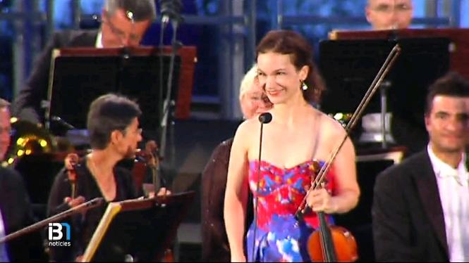 La+violinista+Hilary+Hahn+ha+actuat+al+Festival+Formentor+Sunset+Cl%C3%A0ssics