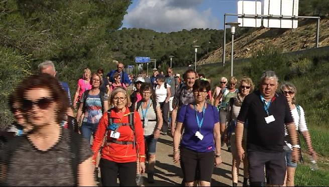 El+Mallorca+Walking+Event+aplega+un+miler+de+senderistes+a+Calvi%C3%A0