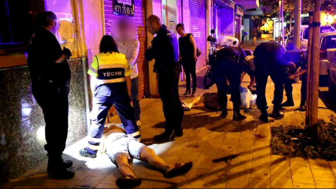 Una+brega+entre+ciutadans+de+nacionalitat+xinesa+ha+acabat+amb+diversos+ferits+al+barri+palmes%C3%A0+de+Pere+Garau