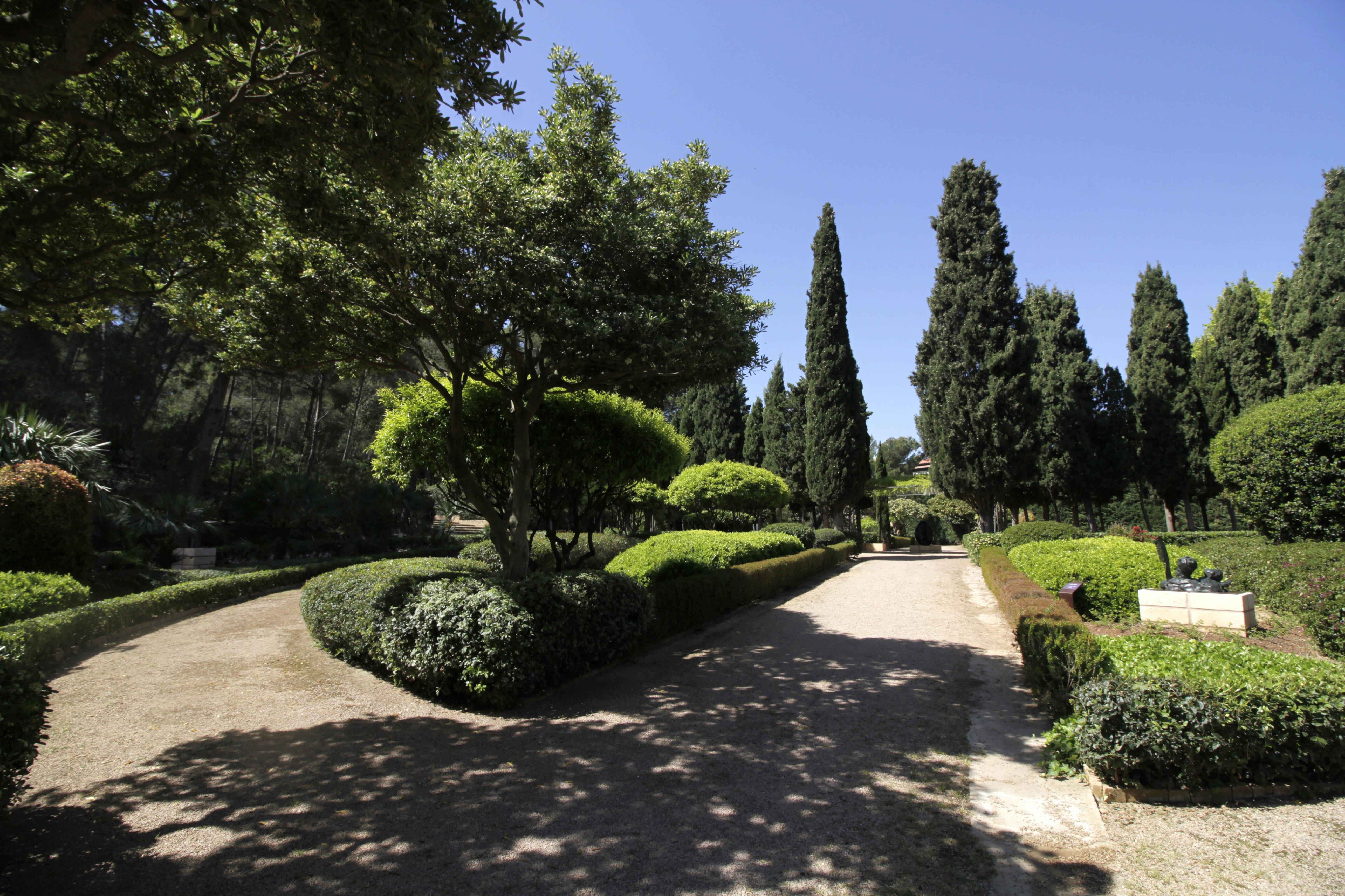 Els jardins del palau de Marivent obriran al públic el proper 2 de maig. / EFE - J. GRAPELLI