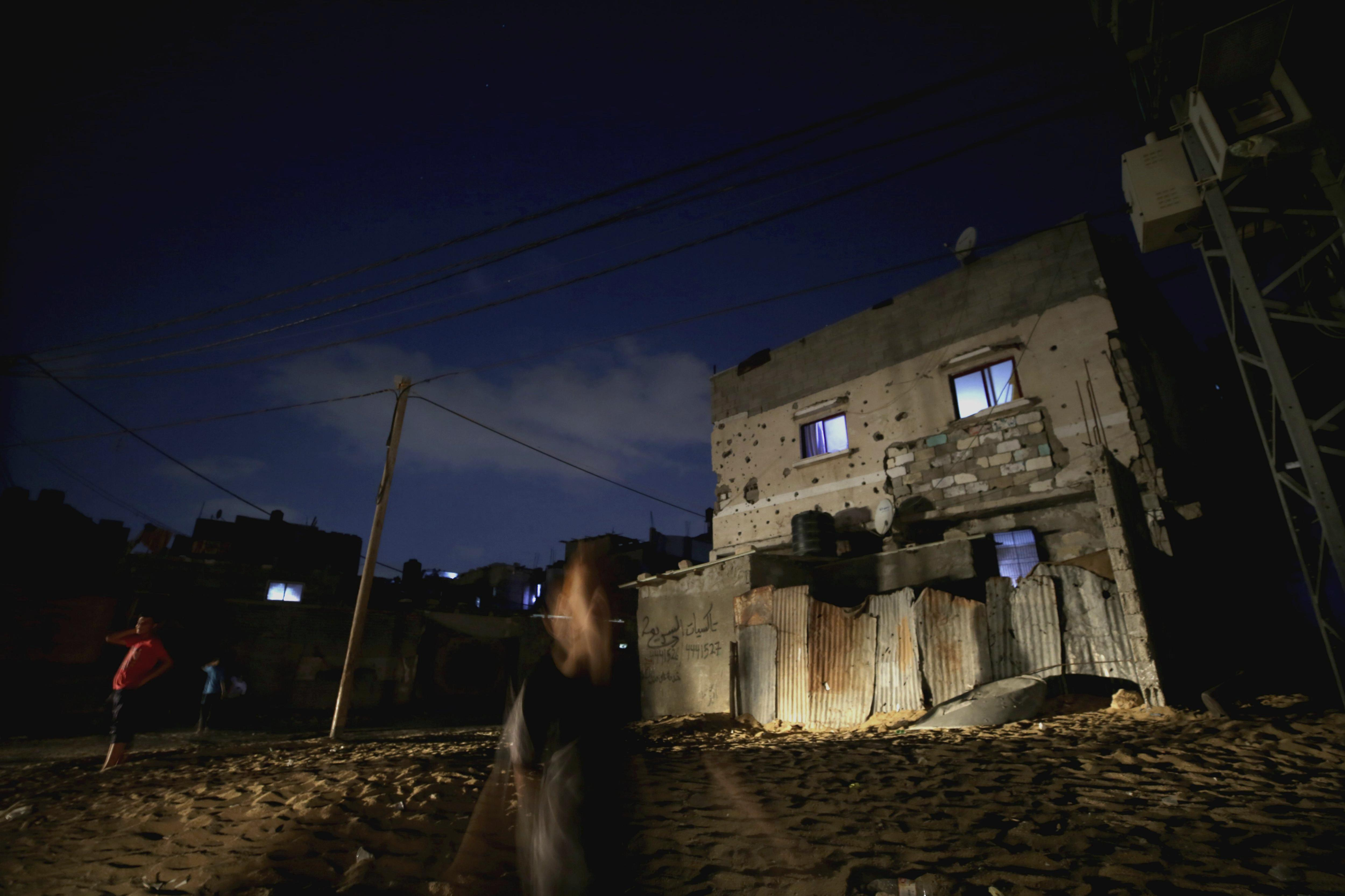 Es compleix el tercer aniversari dels 50 dies d'ofensiva militar israeliana a la franja de Gaza. /MOHAMMED SABER