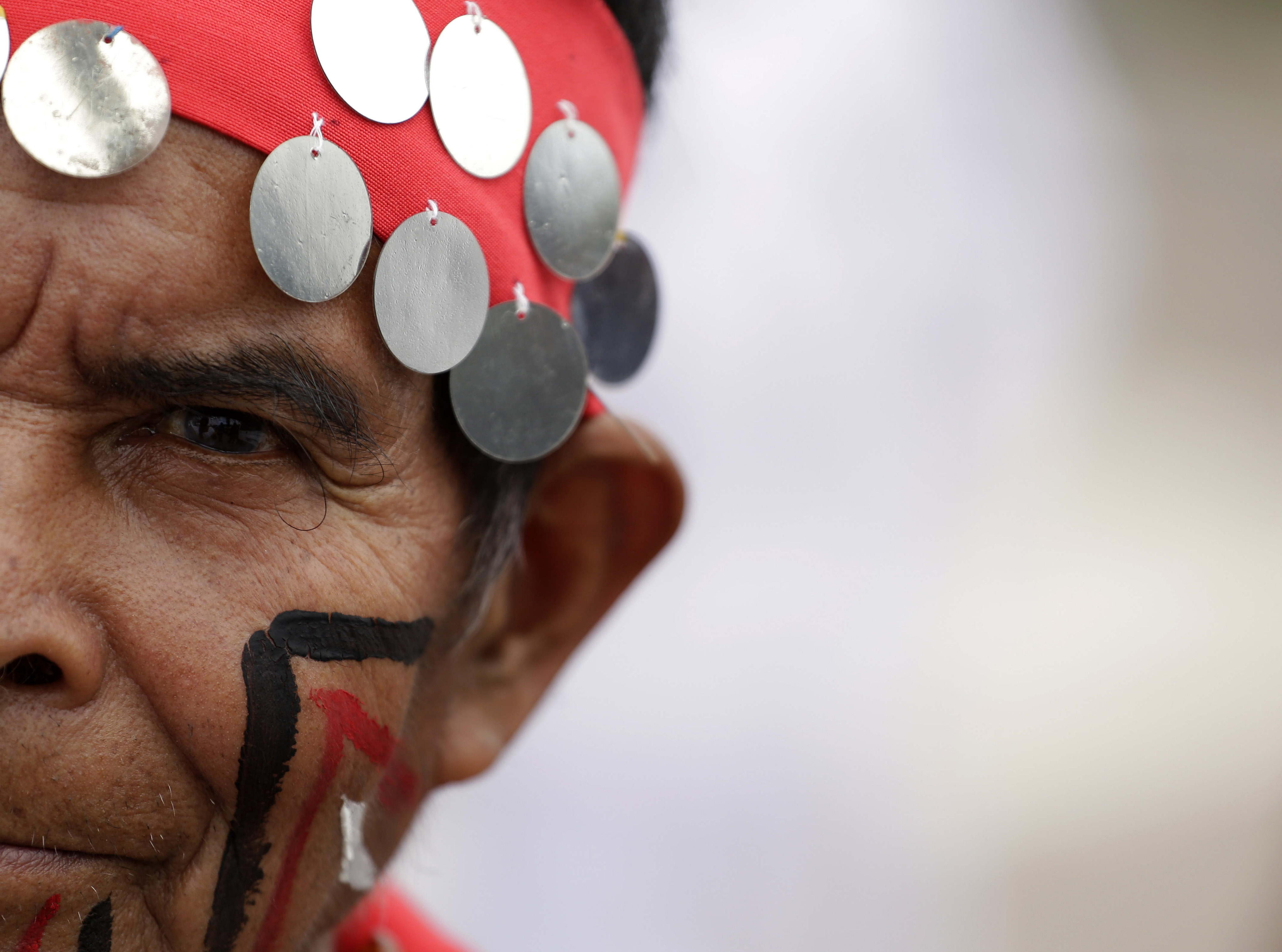Indígenes salvadorencs demanen a l'Estat complir amb el pla que vetlla pels seus drets. /RODRIGO SURA