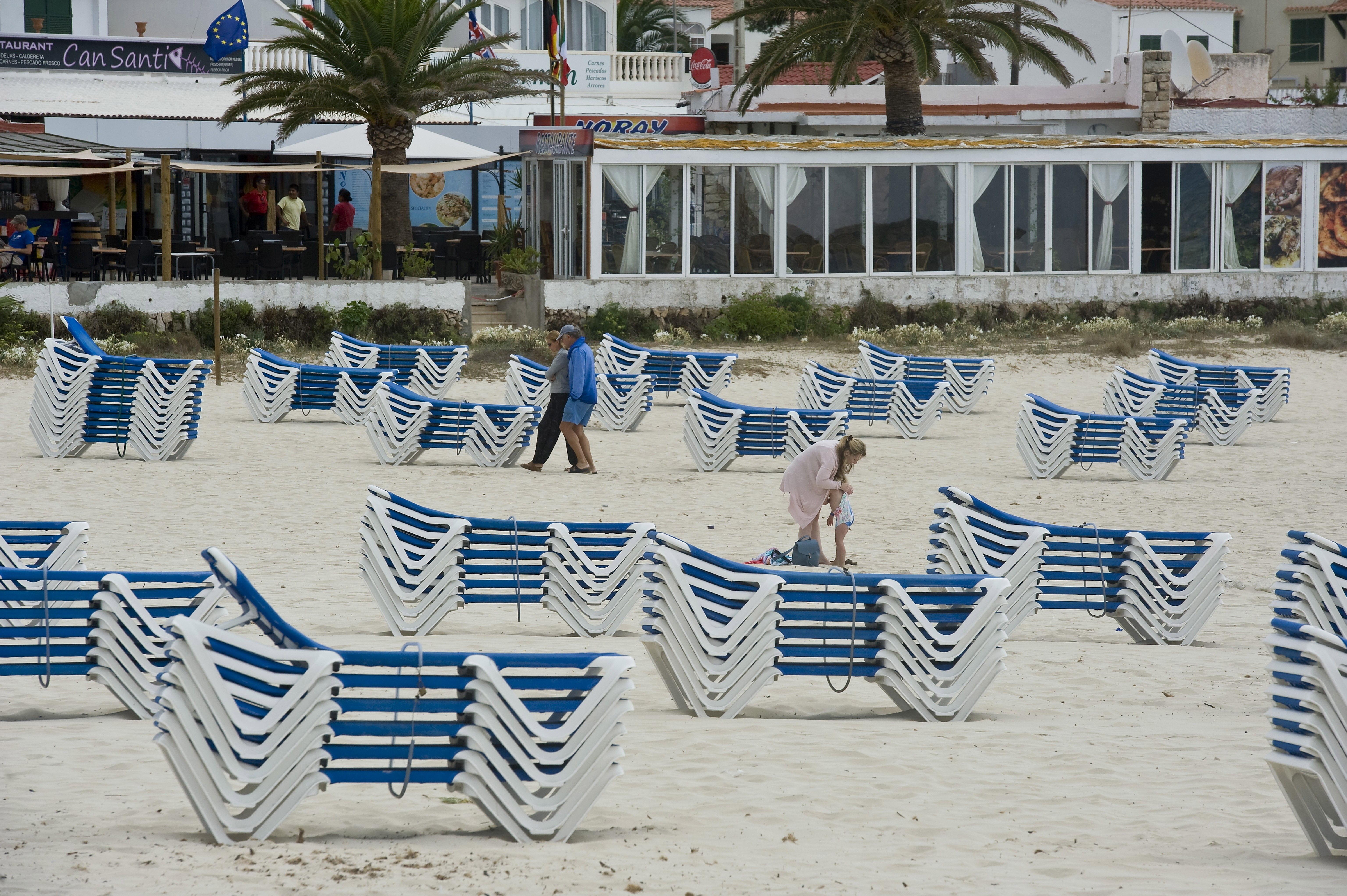Fotografia de la platja de Punta Prima, en el municipi de Sant Lluís a Menorca./DAVID ARQUIMBAU