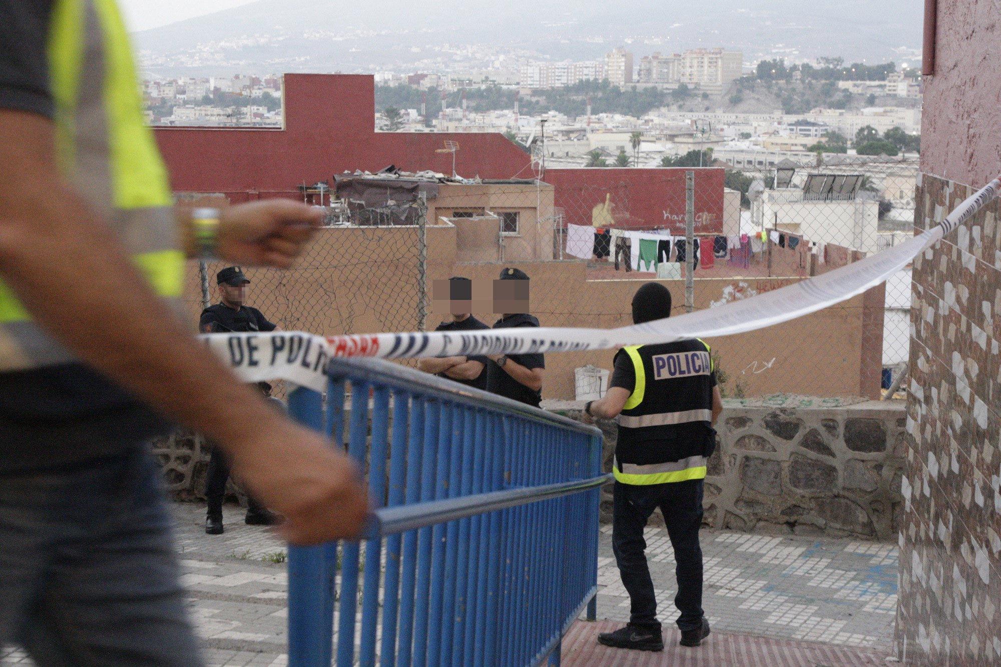 Desmantellen una cèl·lula jihadista al Marroc i Melilla. Detingudes sis persones. / F.G.GUERRERO