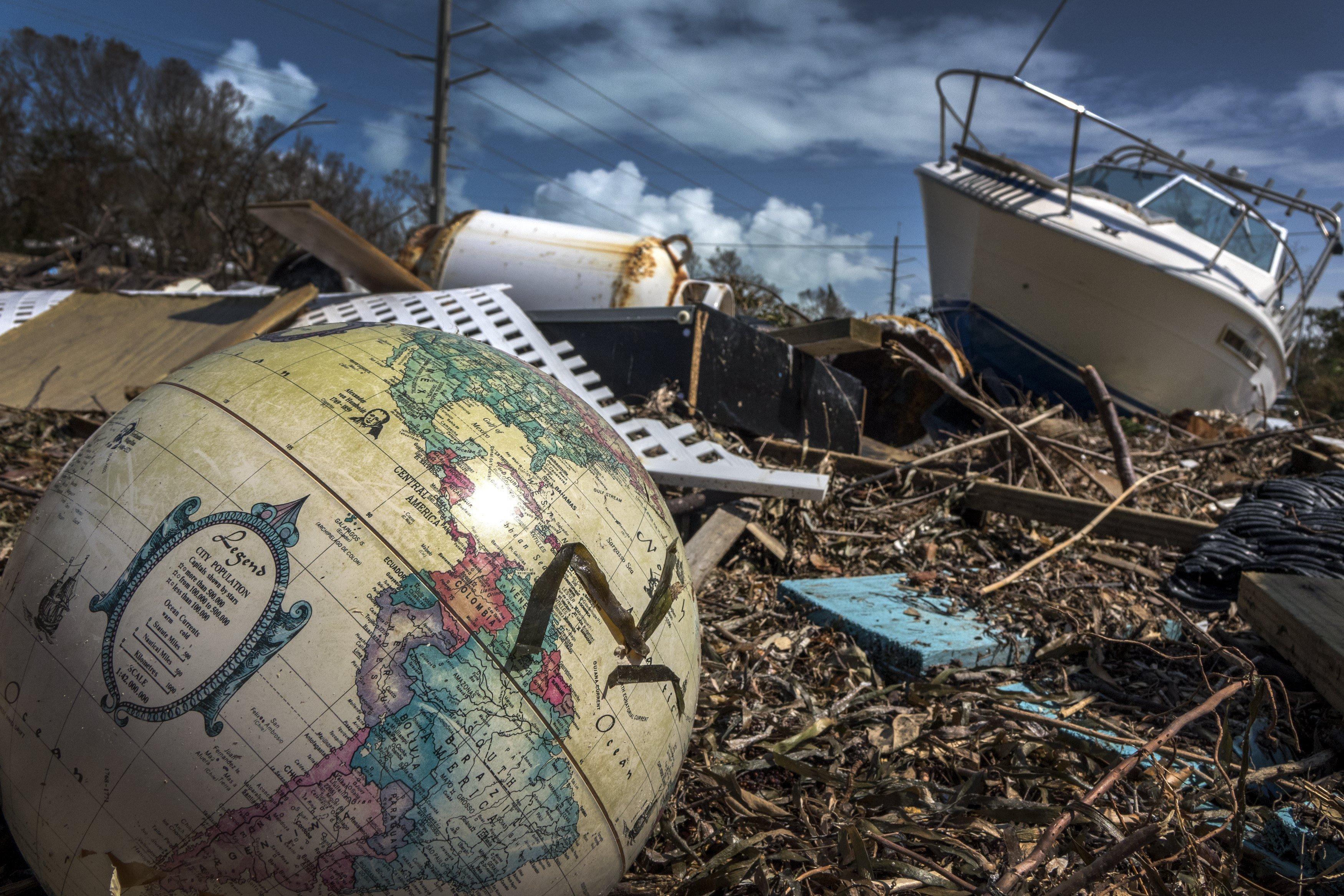 Imatge de les destrosses de l'huracà Irma a Marathon, els Cayos de Florida (EUA). /CRISTOBAL HERRERA