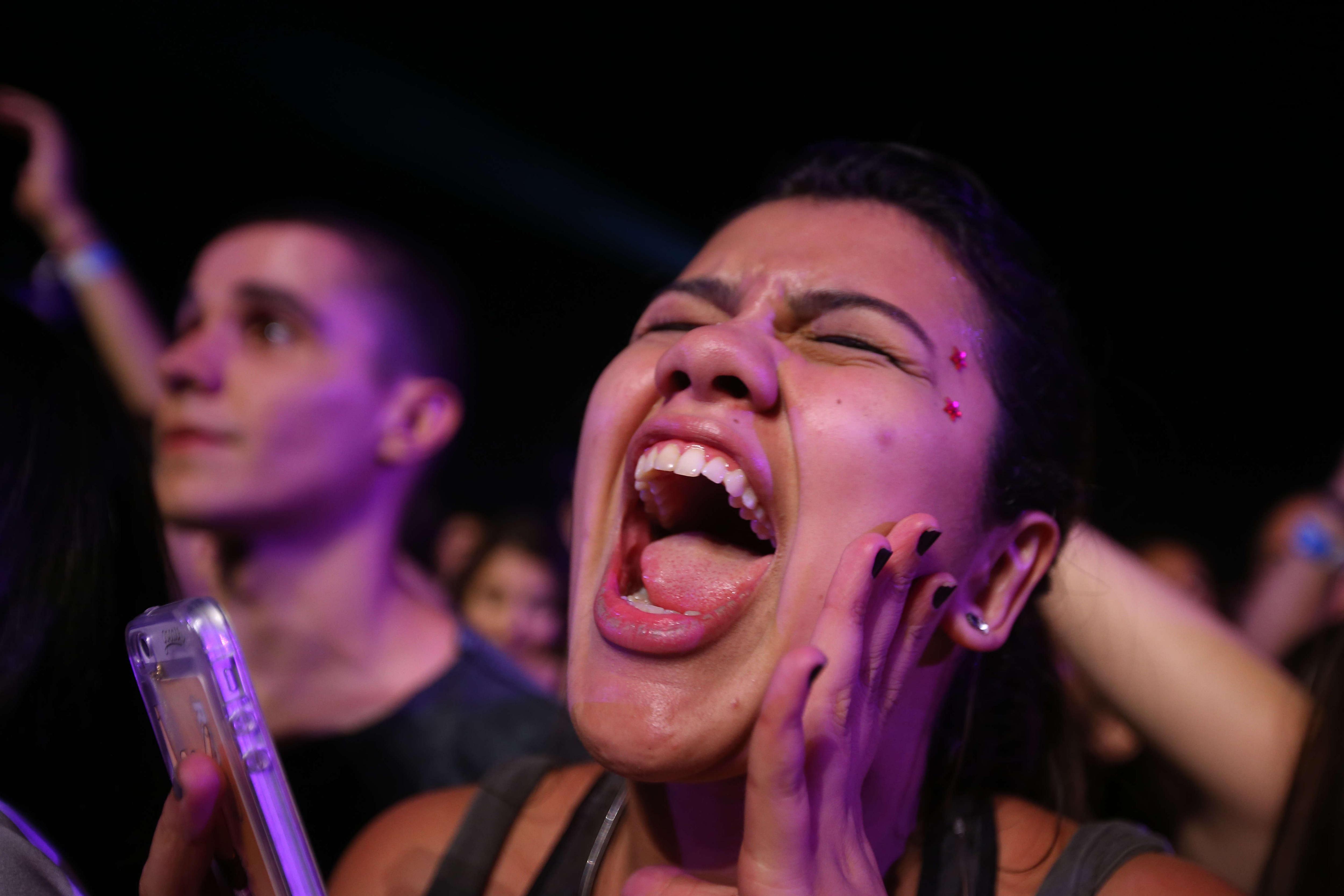 Segon dia del festival Rock in Rio (Brasil). /MARCELO SAYAO