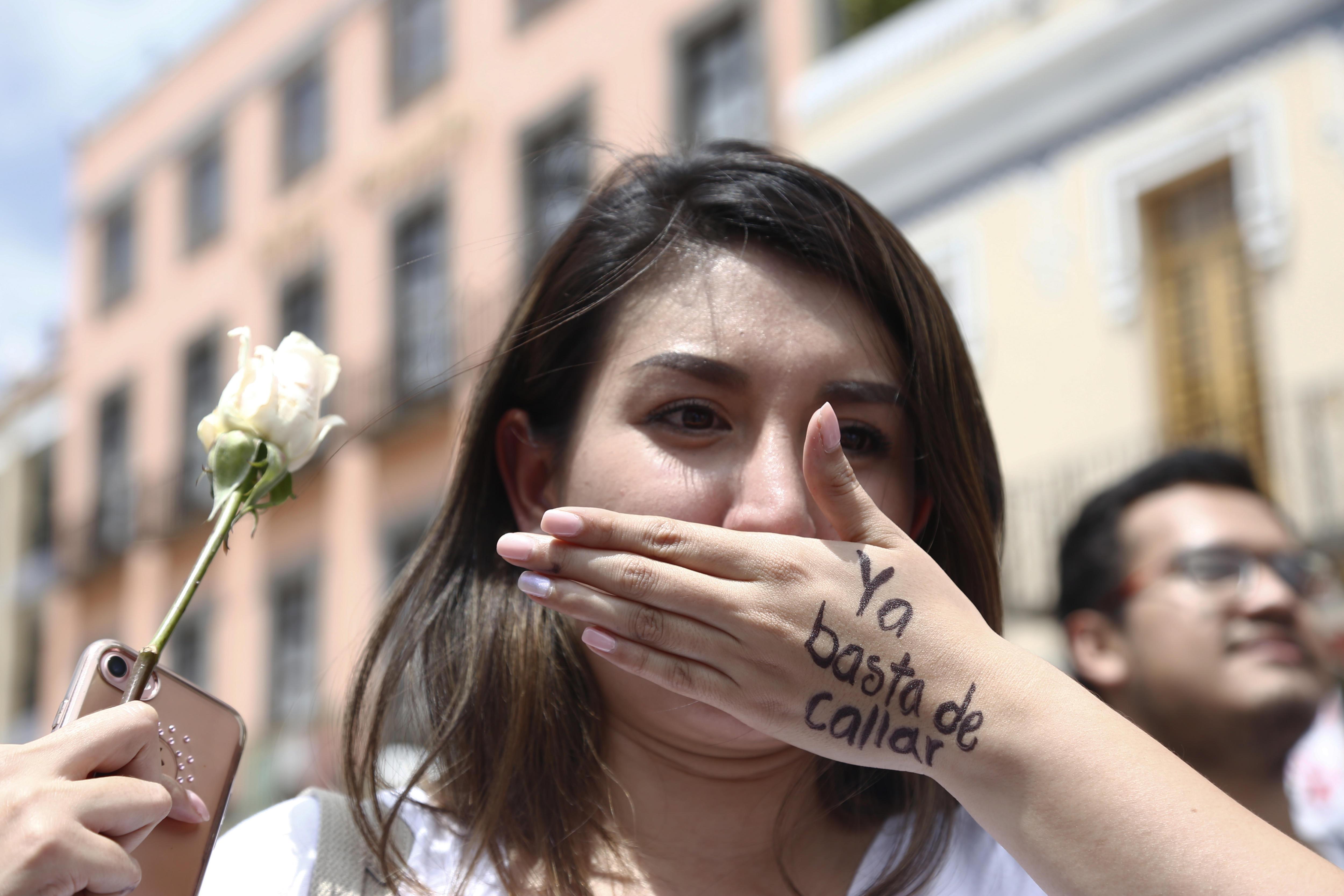 Continuen les protestes de condemna al presumpte assassinat d'una jove mexicana per un conductor Cabify. /FRANCISCO GUASCO