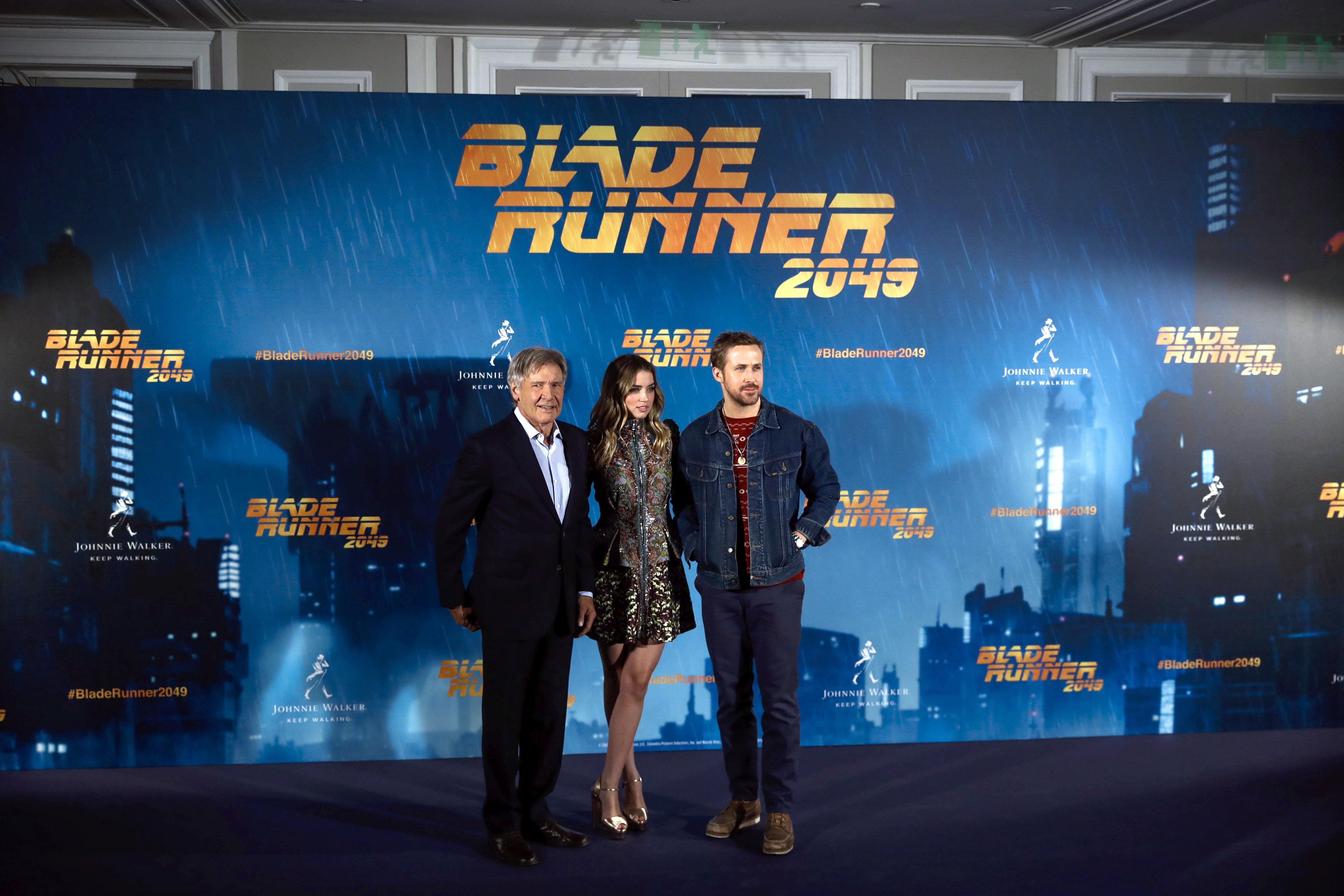 """Presentació a Madrid de """"Blade Runner 2049"""", seqüela de l'obra mestra de Ridley Scott. /EMILIO NARANJO"""