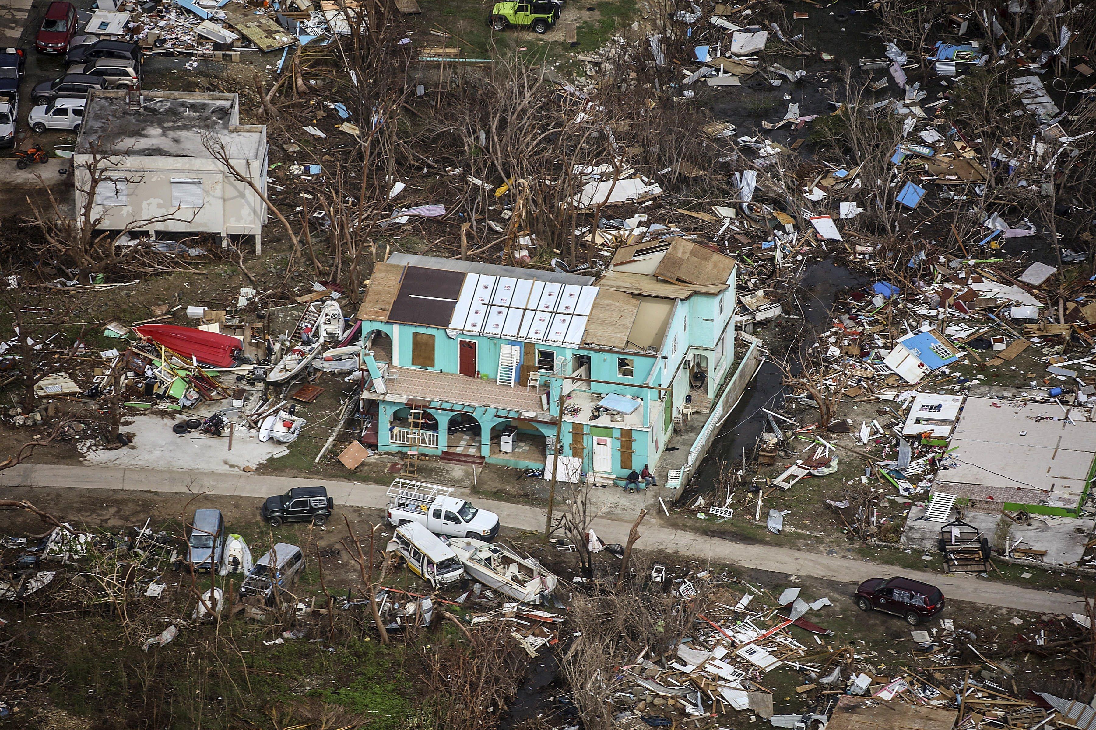 Comencen les tasques de reconstrucció de les Illes Vergues britàniques després del pas de l'huracà Irma. /JOEL ROUSE