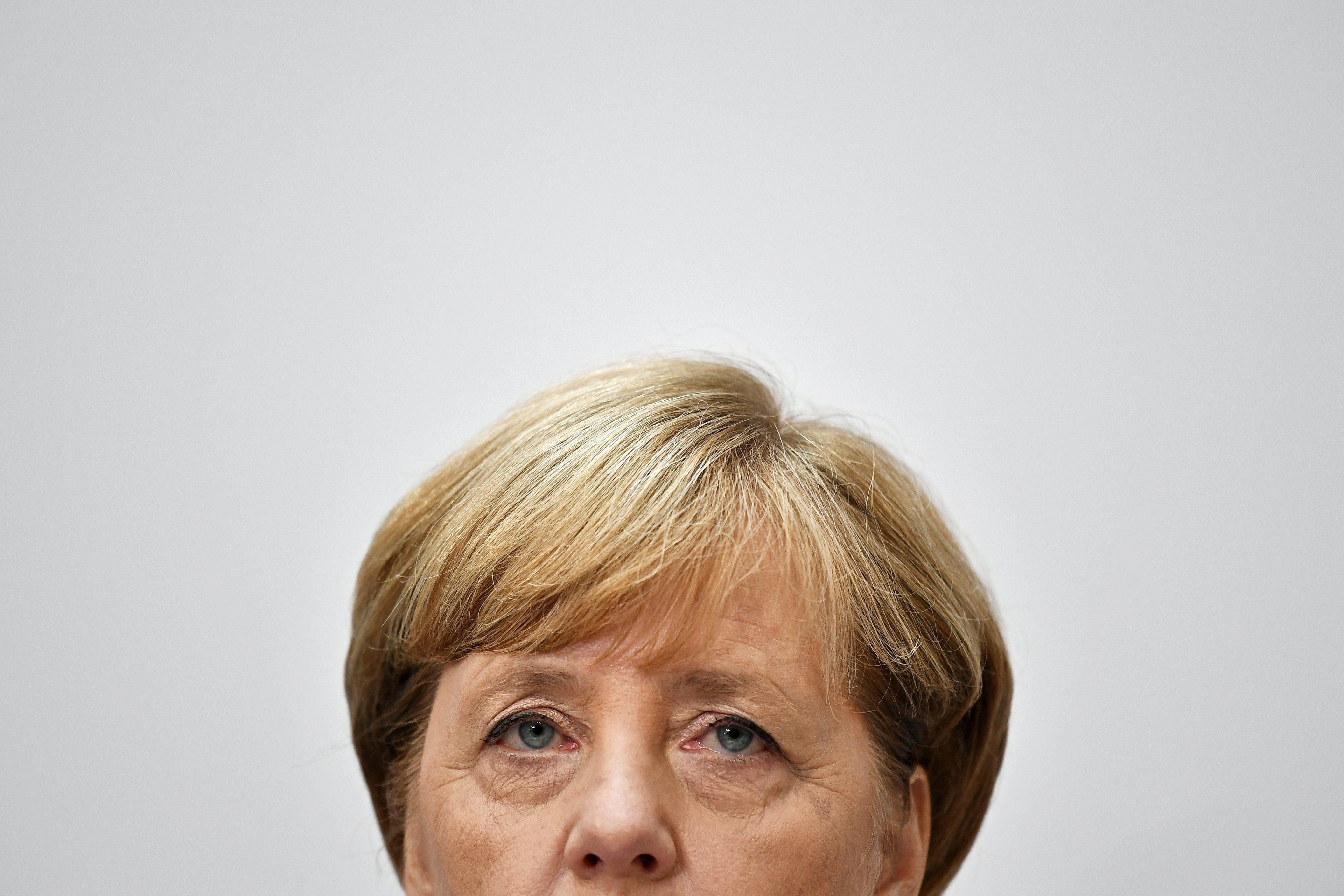 Angela Merkel va guanyar ahir les eleccions alemanyes i repetirà com a cancellera. /CHRISTIAN BRUNA