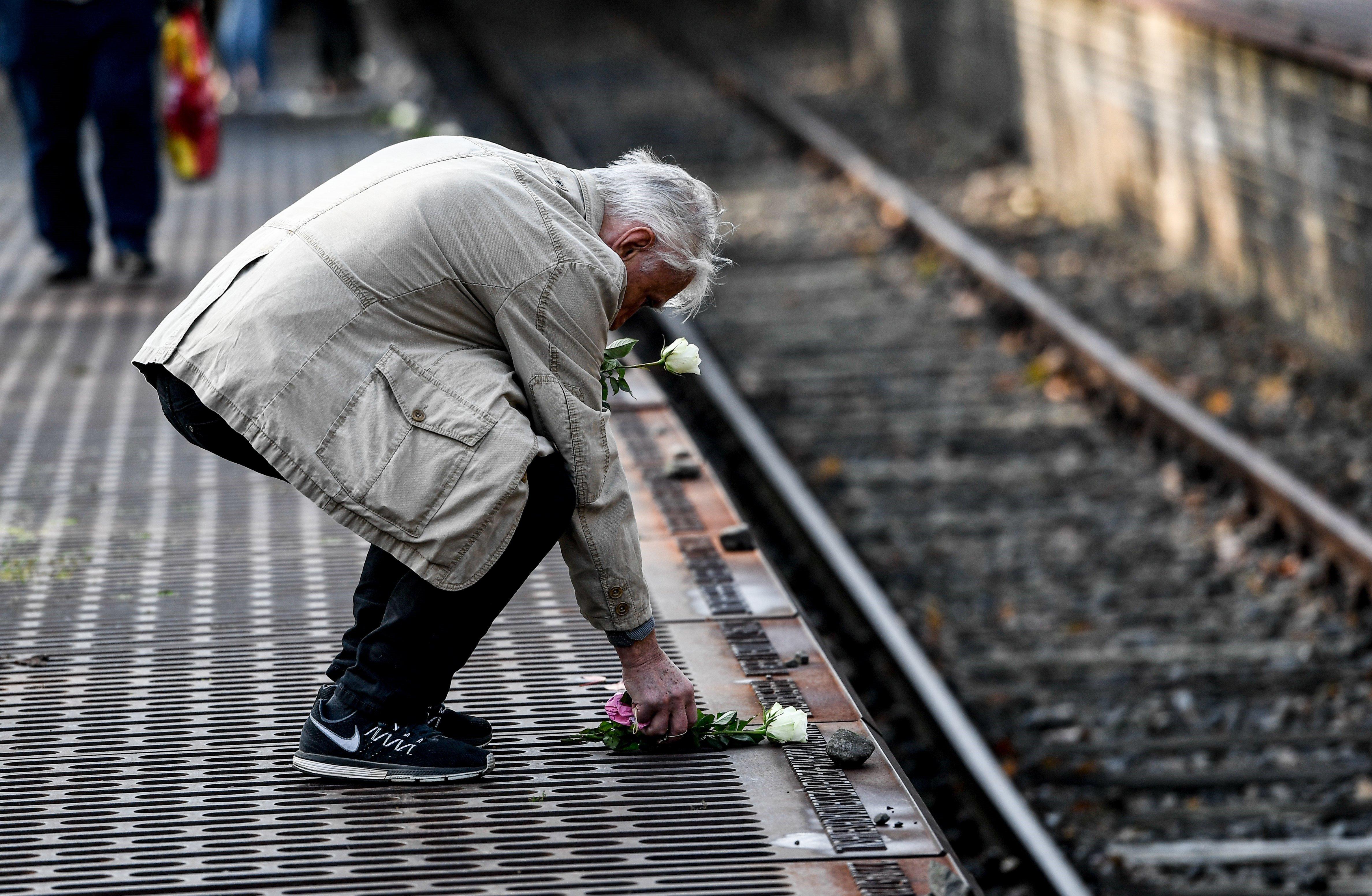 Commemoració de l'Holocaust Jueu a Berlín. /FILIP SINGER