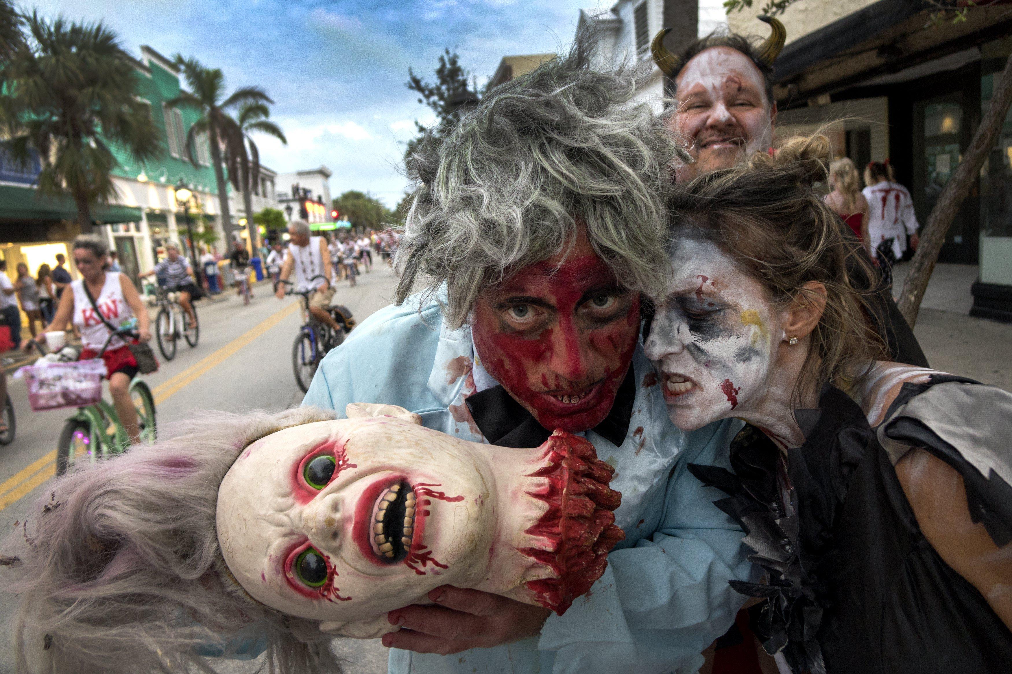 Desfilada de Fantasy Fest 2017 a Key West, Florida. /CRISTOBAL HERRERA