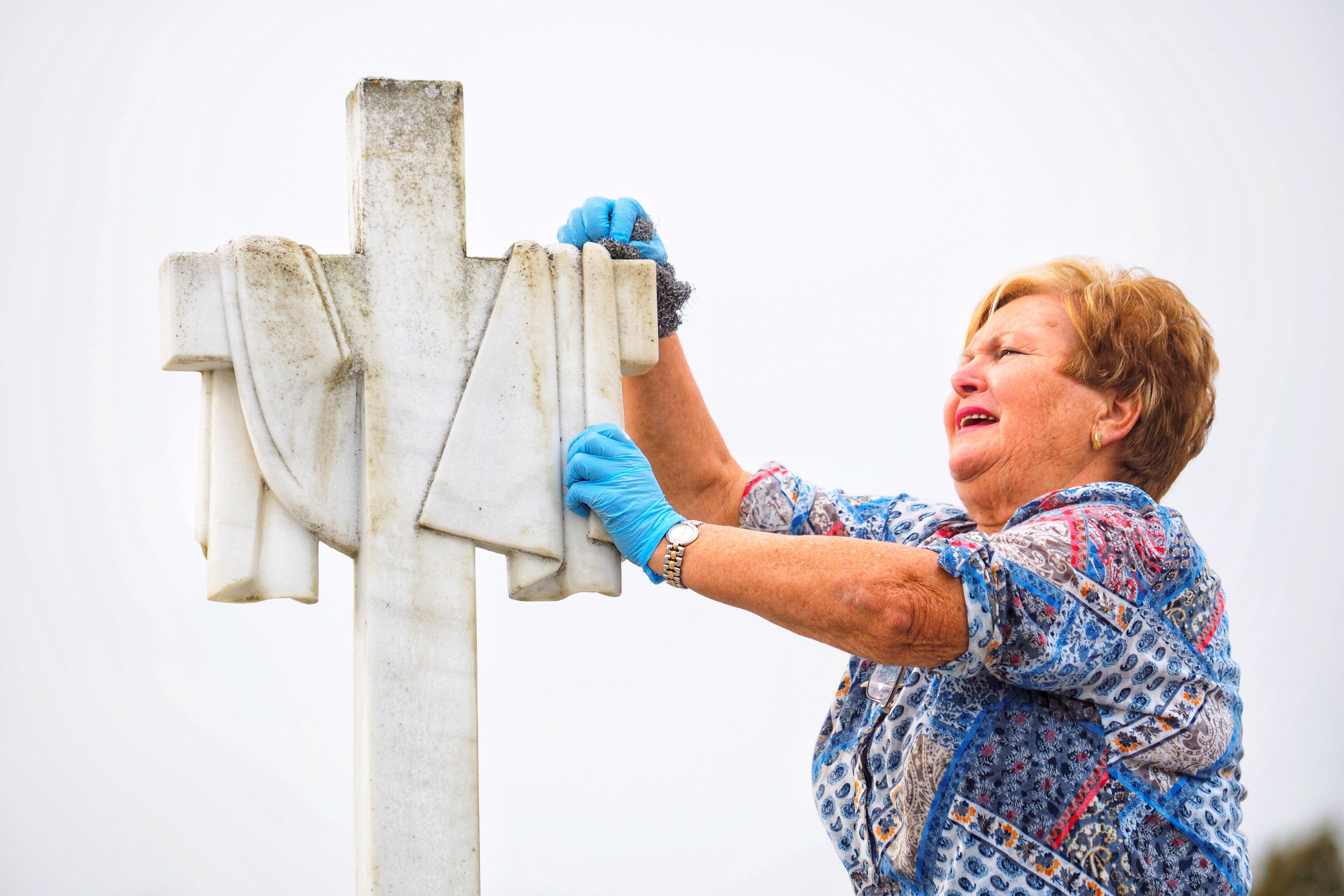Cementiri de San Froilán, a Lugo. /ELISEO TRIGO