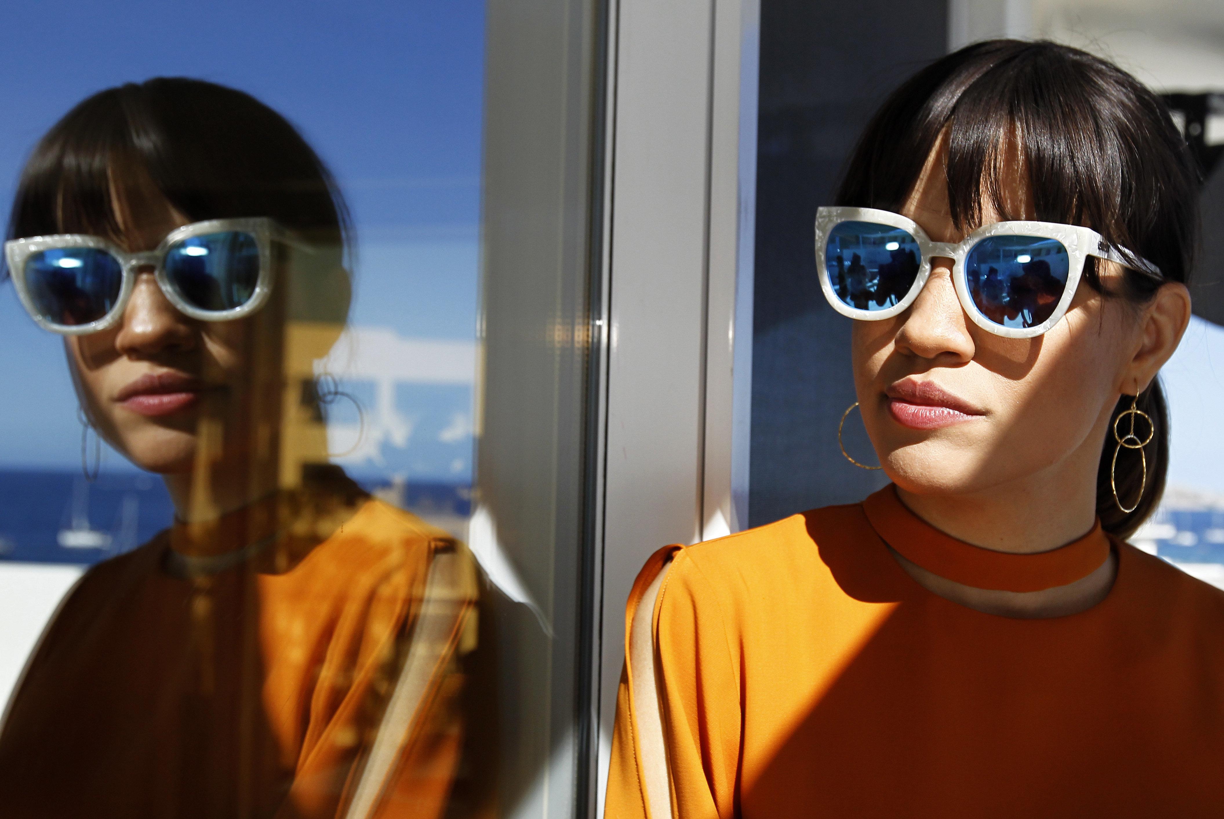 """L'actriu nord-americana Natalie Morales en el Festival Internacional de Cinema de Los Cabos (Mèxic). El festival rendeix tribut al Paul Schrader, guionista de cintes com a """"Taxi Driver"""". /ULISES RUIZ BASURTO"""