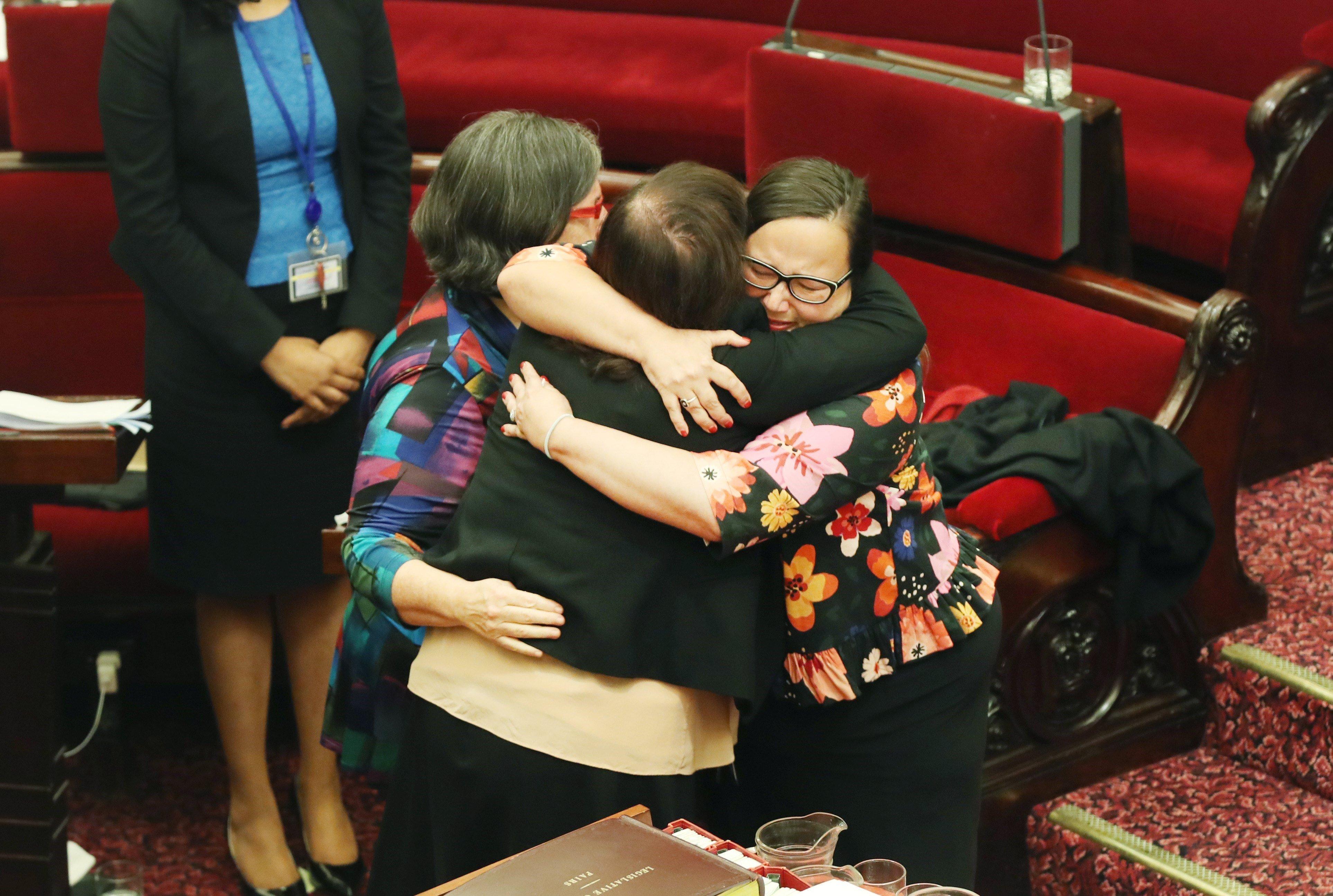 El Senat de l'estat de Victoria ratifica el projecte de llei per legalitzar l'eutanàsia, Austràlia. /DAVID CROSLING