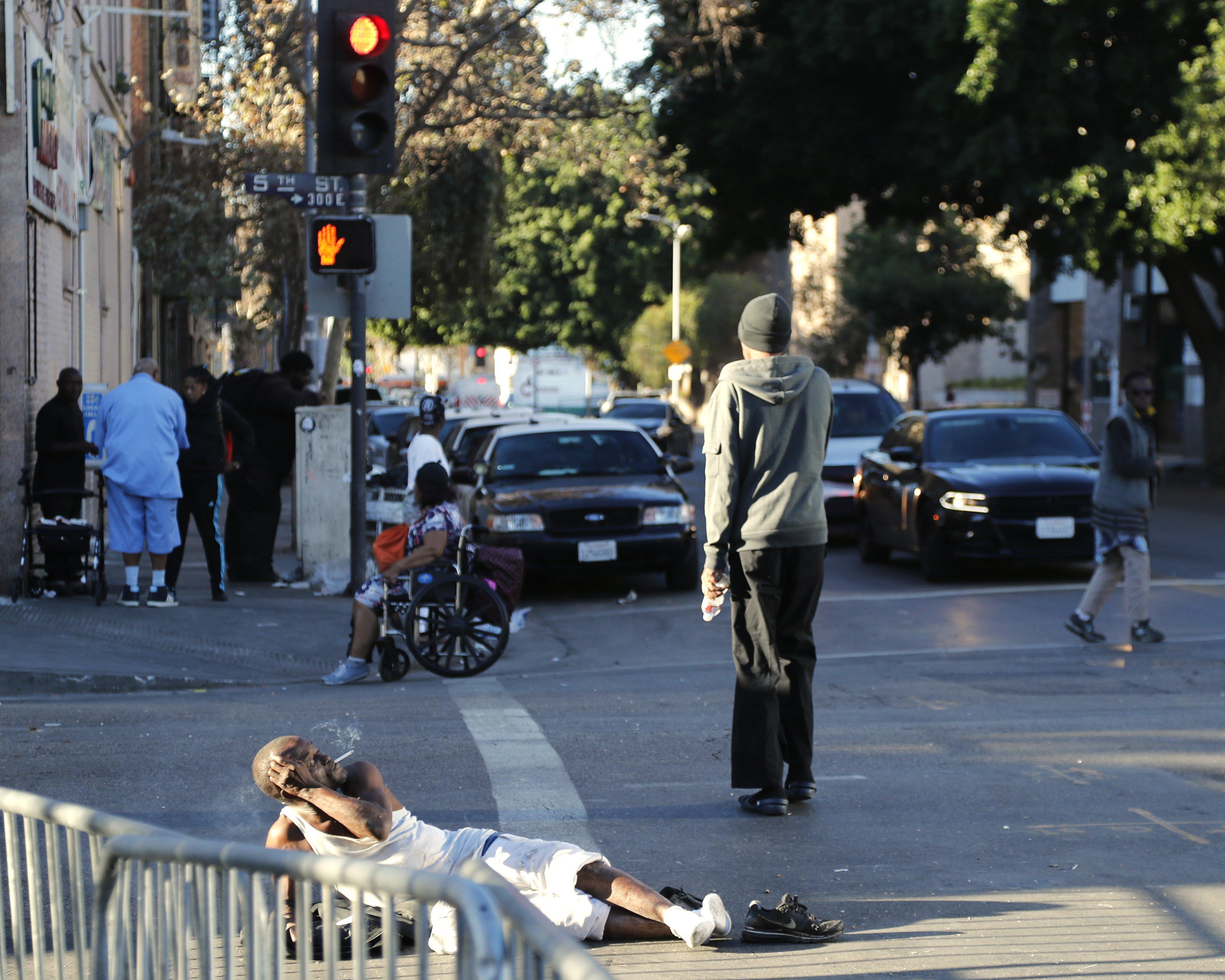Es calcula que més de 60.000 persones viuen als carrers de Los Angeles. /PAUL BUCK