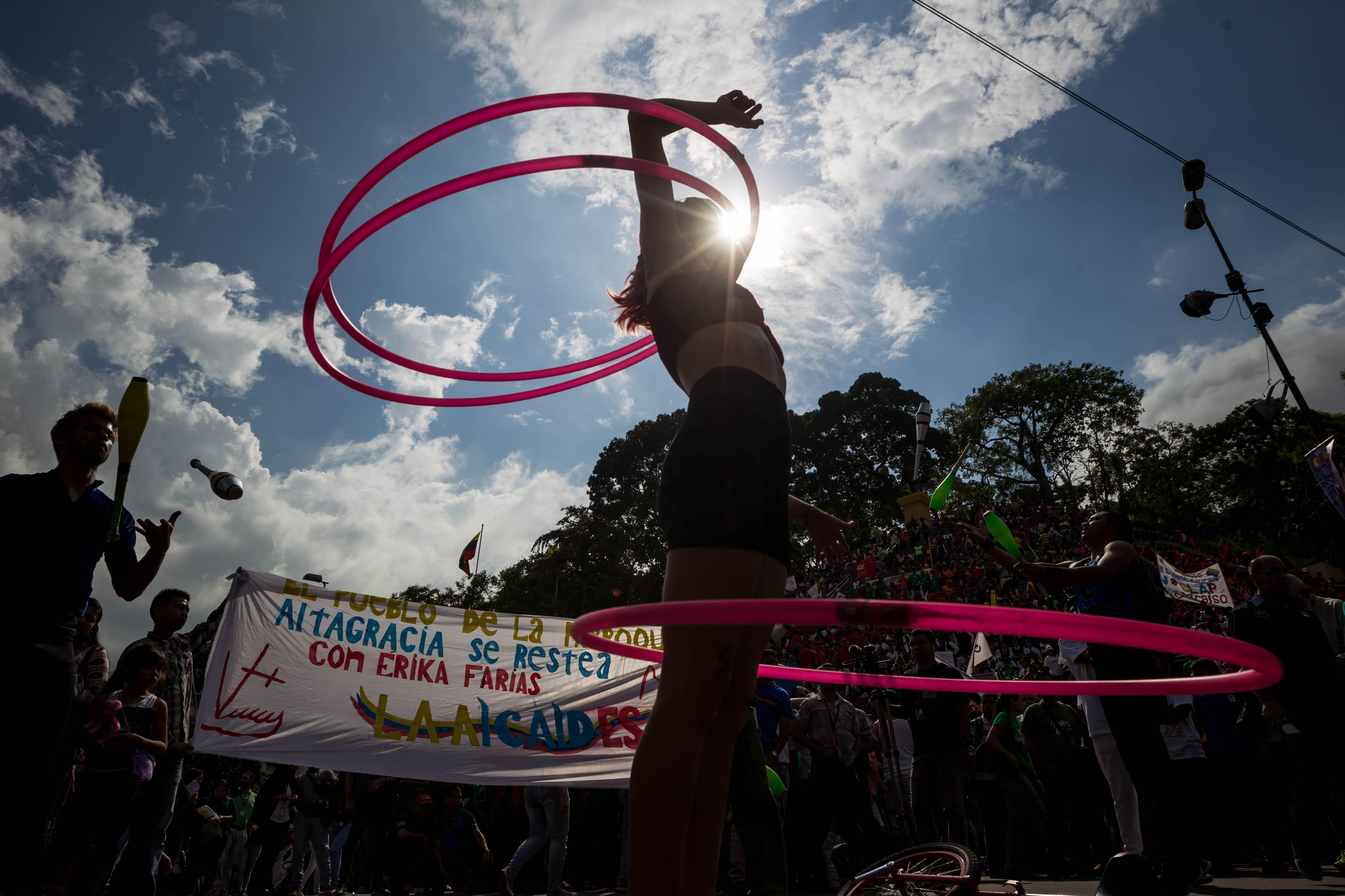 Comença la campanya electoral dels candidats a alcaldes a Veneçuela. /MIGUEL GUTIÉRREZ